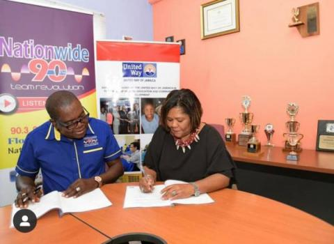 Nationwide News Network Partners With United Way Of Jamaica